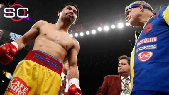 Pacquiao could face discipline for hiding injury