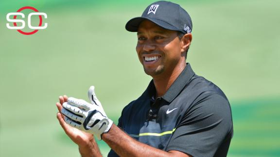 Tiger: 'I'm on the right road'