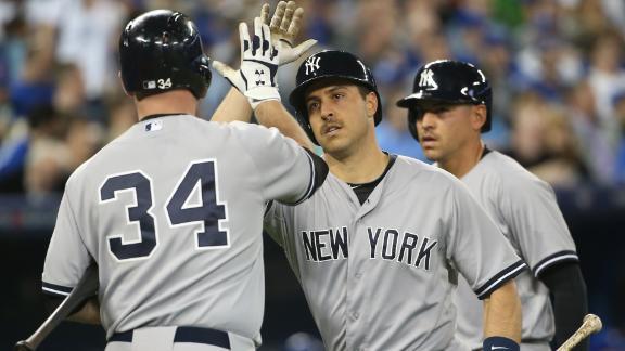 Yankees double up Blue Jays