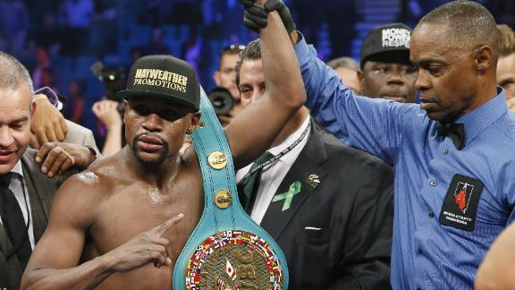 Mayweather upset with Pacquiao