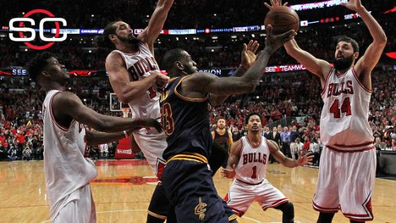 Cavaliers, Bulls set for pivotal Game 5