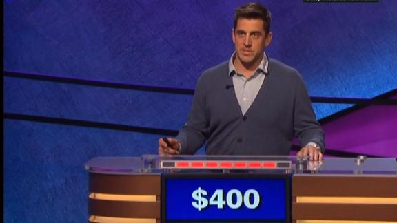 "Rodgers rolls on ""Jeopardy!"""