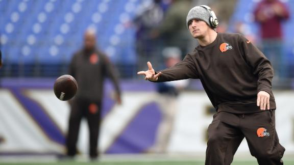 Video - Small steps are positives for Johnny Manziel