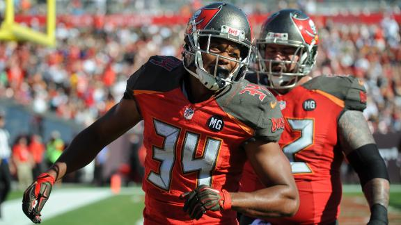 Video - Bucs' starting tailback job is up for grabs