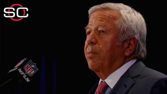Kraft reluctantly accepts punishment