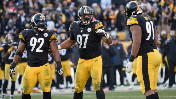 Video - Cam Heyward, Lawrence Timmons lead new Steelers defense