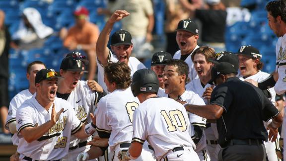 VU rallies to 10th-inning win over Mizzou