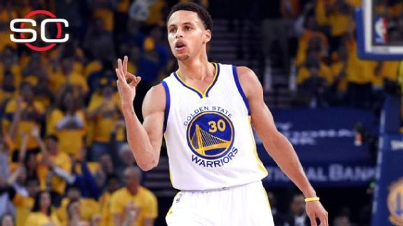 Curry, Warriors battle past Rockets in Game 1
