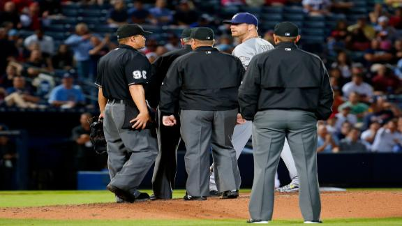 Will Smith ejected for alleged pine tar use