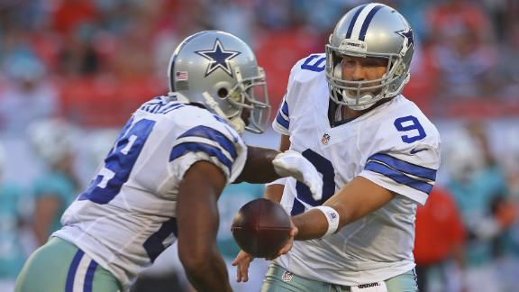 Tony Romo misses DeMarco Murray