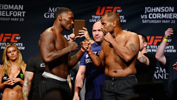 UFC 187 preview, post-weigh-in