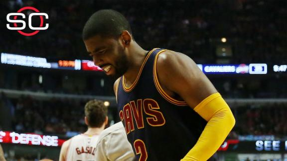 Kyrie Irving questionable for Game 2