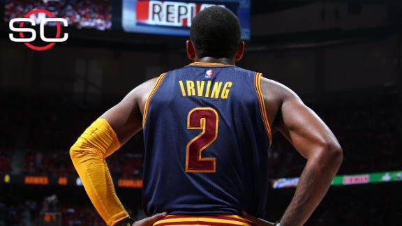 Cavs' Kyrie Irving out for Game 2 due to left knee tendinitis