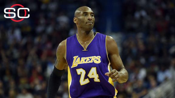 Kupchak says next season will be Kobe's last