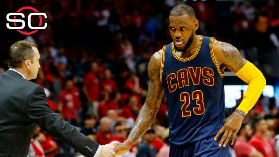 LeBron says he'll be ready to go for Game 2