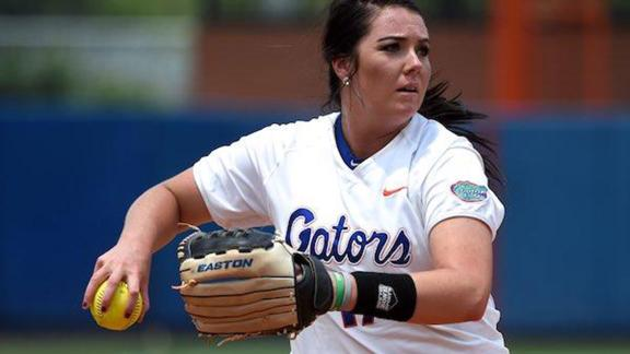Haeger leads Gators past Wildcats