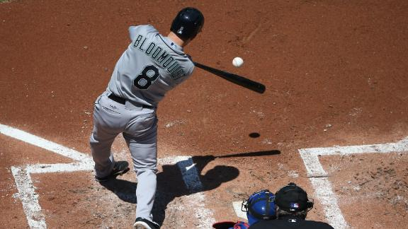 Bloomquist leads M's past Blue Jays