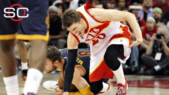 Korver to miss rest of playoffs with ankle sprain