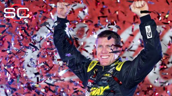 Edwards wins Coca-Cola 600