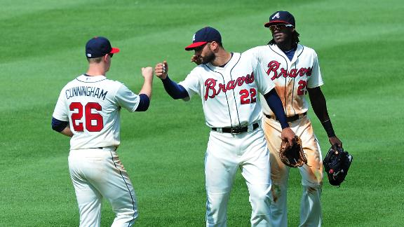 Braves hold off Brewers