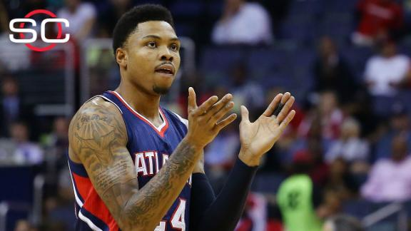 Bazemore replaces Korver in starting lineup