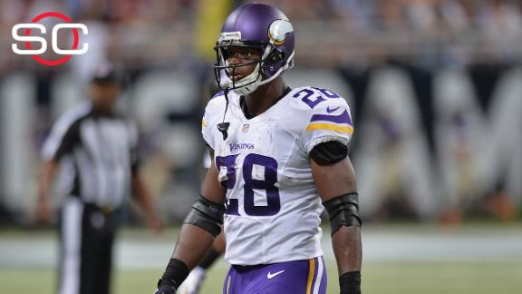 Vikes coach: Peterson to play for us or no one