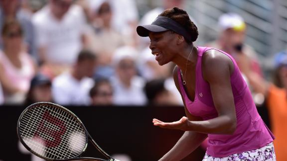 Sloane Stephens, 22, beats Venus Williams, 34, in first round