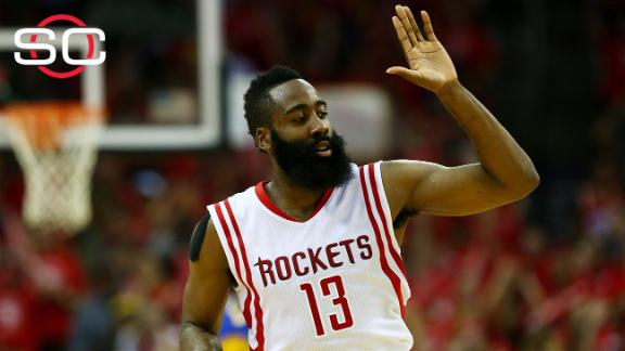 Slowing down James Harden