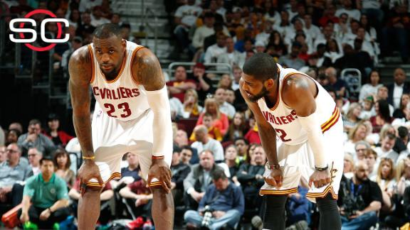 LeBron improving, Kyrie a game-time decision