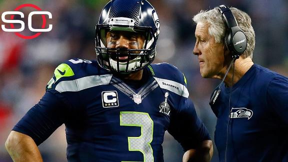 Carroll mum on Seahawks' talks with QB Wilson