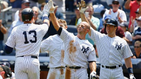 Alex Rodriguez moves into third on all-time RBI list after 3-run HR