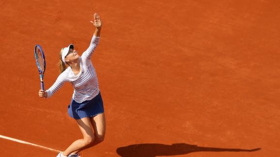 What cold? Sharapova sizzles in French win