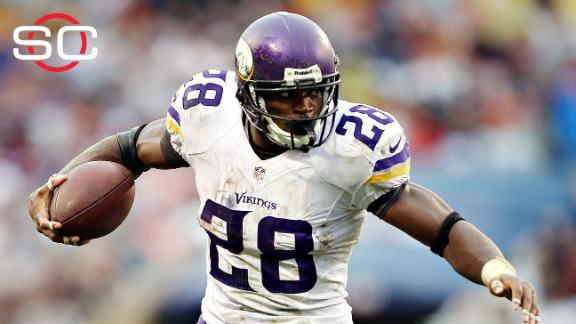 Adrian Peterson: 'Crazy how one side has so much power'