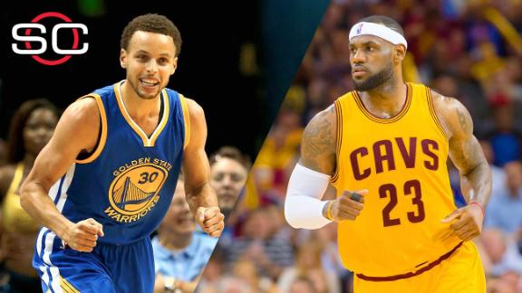LeBron on slowing Curry in Finals: 'You can't'