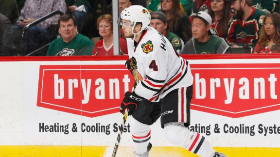 Blackhawks' top four defensemen not fazed by playing huge minut…