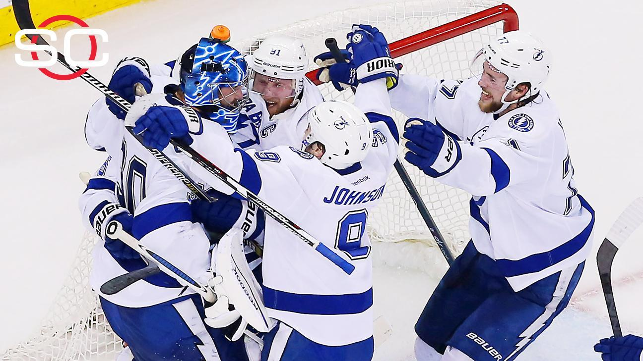 Lightning shut out Rangers in Game 7