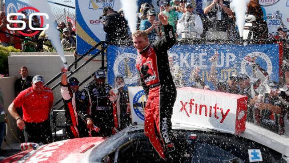 Chris Buescher wins Xfinity race at Dover