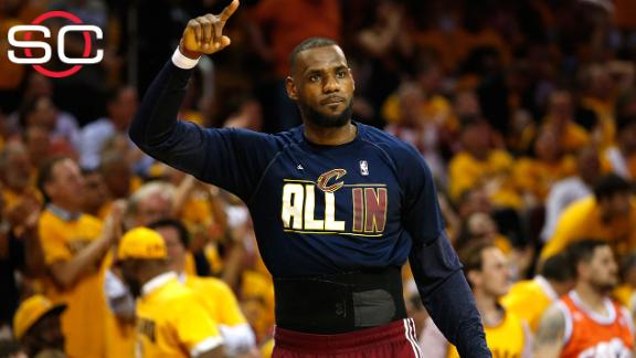 LeBron James says of game: 'This is probably the best I've been'
