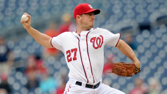 Zimmermann, Nationals blank Blue Jays