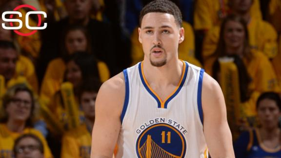 Klay Thompson clears NBA's concussion protocol, gets Game 1 nod