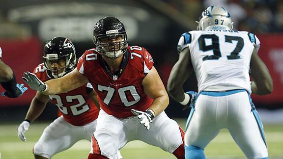 NFC South Q&A: Do Atlanta Falcons have worst offensive line?