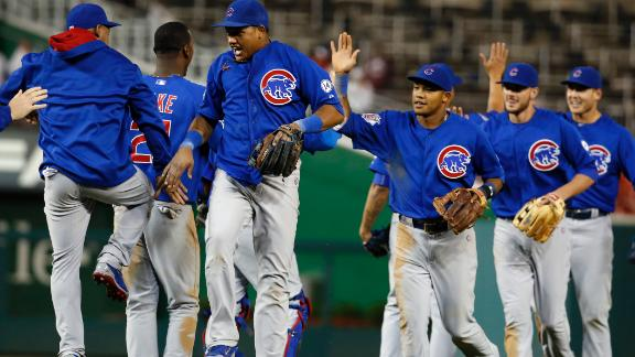 Arrieta solid as Cubs score early and defeat Nationals 2-1 ...