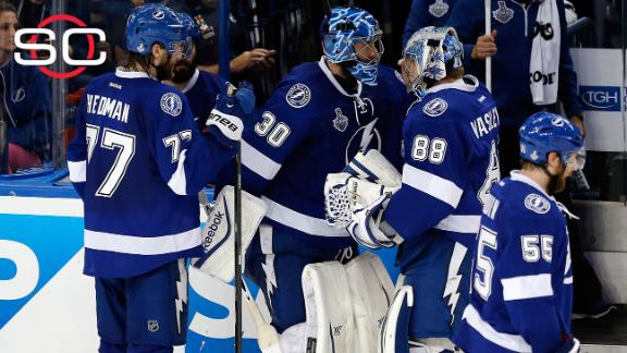 Lightning mum about Game 3 goalie