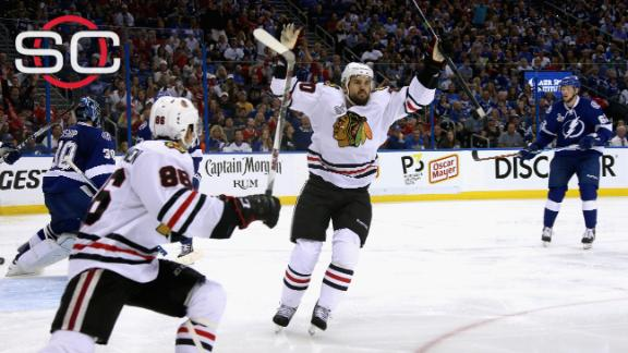 Chicago one game from hoisting the cup