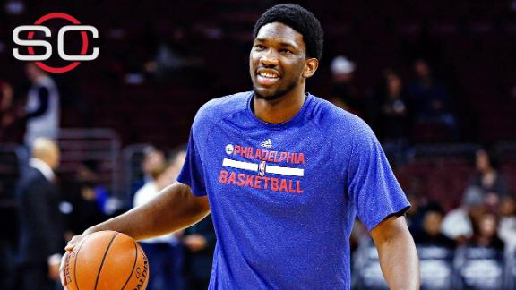 Embiid suffers setback with right foot