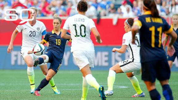 Wambach: Turf field costing U.S. team goals