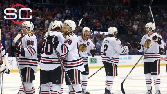 Blackhawks have chance to clinch Stanley Cup at home