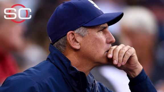 Padres fire manager Bud Black