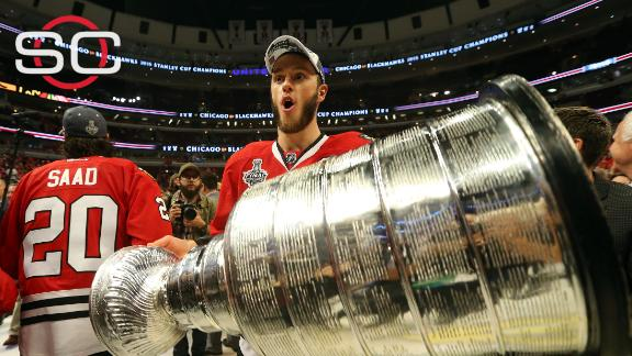 Blackhawks' road to the Cup