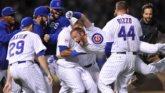 Cubs walk off against Dodgers